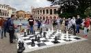 Schachpartie auf Piazza Bra in Verona gegen R.Bernardi - 26.05.2019